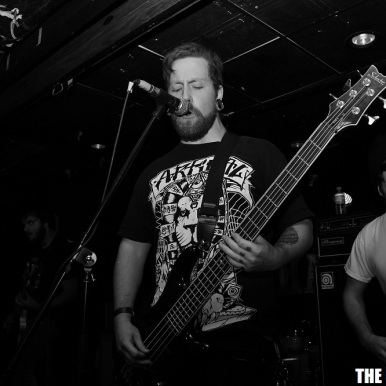 Photography by: Claudia Kielb | The Heavy Press | Hard Luck Bar, Toronto | October 21st, 2013 | Do not crop or modify this image