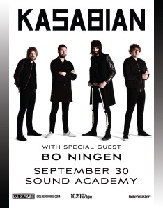 Kasabian-Flyer