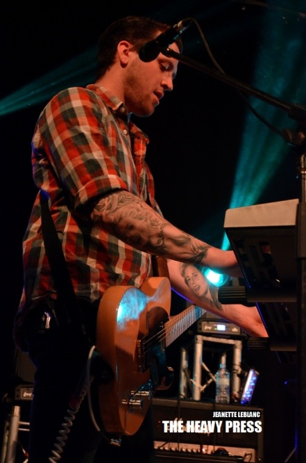 Photography by: Jeanette LeBlanc | The Heavy Press | Oshawa Music Hall | May 24th, 2014 | Do not crop or modify these images