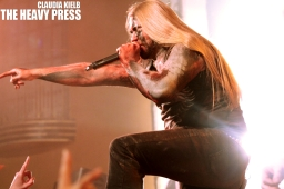 Photography by: Claudia Kielb   The Heavy Press   The Opera House, Toronto   May 1st, 2014   Do not crop or modify these images