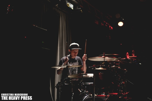 Photography by: Christina Marchioni   The Heavy Press   London Music Hall   August 16th, 2014   Do not crop or modify these images