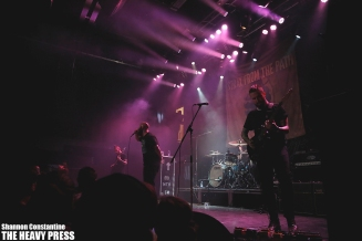 Photography by: Shannon Constantine   The Heavy Press   London Music Hall   September 18th, 2014   Do not crop or modify these images
