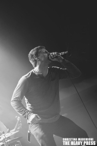 Photography by: Christina Marchioni | The Heavy Press | October 2nd, 2014 | London Music Hall | Do not crop or modify these images