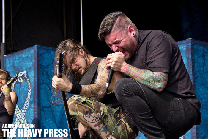 suicide silence shot