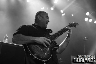 Photography by: Christina Marchioni | The Heavy Press | London Music Hall | August 4th, 2015 | Do not crop or modify these images | Do not use without permission