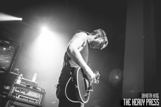 Photography By: Dakota King   The Heavy Press   November 12th, 2015   Danforth Music Hall, Toronto   Do not crop or modify these images   Do not use without permission