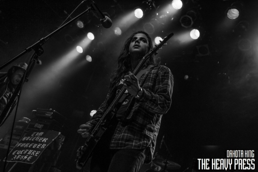 Dakota King   The Heavy Press   Sunday, April 10, 2016   Mod Club, Toronto   Do Not Crop Or Modify These Images   Do Not Use Without Permission