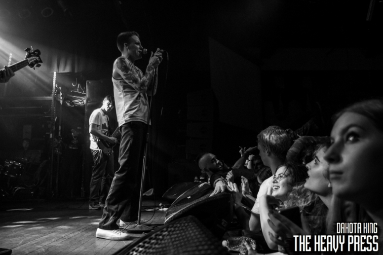 Dakota King | The Heavy Press | Sunday, April 10, 2016 | Mod Club, Toronto | Do Not Crop Or Modify These Images | Do Not Use Without Permission