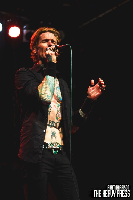 Adam R. Harrison | The Heavy Press | Nov. 16, 2016 | The Phoenix Concert Theatre, Toronto | Do not crop or modify these images | Do not use without permission