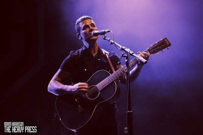 Adam R. Harrison   The Heavy Press   March 10, 2018   The Danforth Music Hall, Toronto   Do not crop or modify these images   Do not use without permission